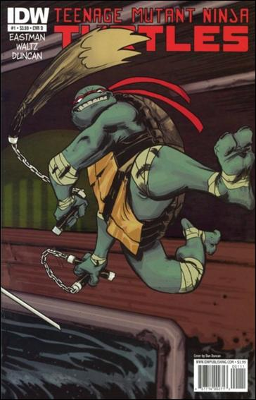 Teenage Mutant Ninja Turtles (2011) 1-D by IDW