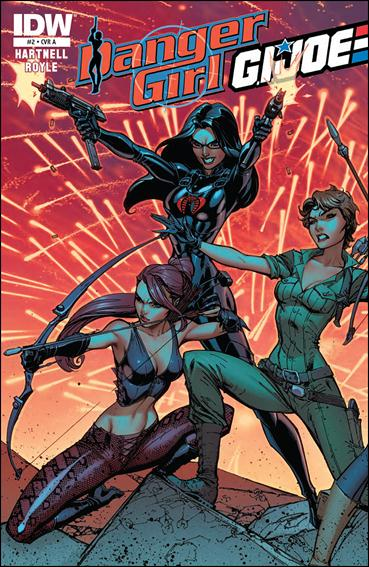 Danger Girl/G.I. Joe 2-A by IDW