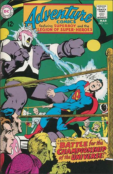 Adventure Comics (1938) 366-A by DC