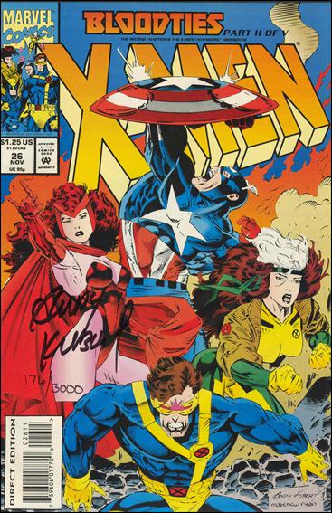 X-Men (1991) 26-C by Marvel