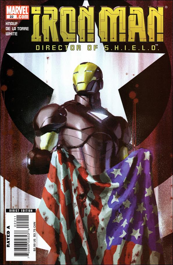 Invincible Iron Man (2005) 22-A by Marvel
