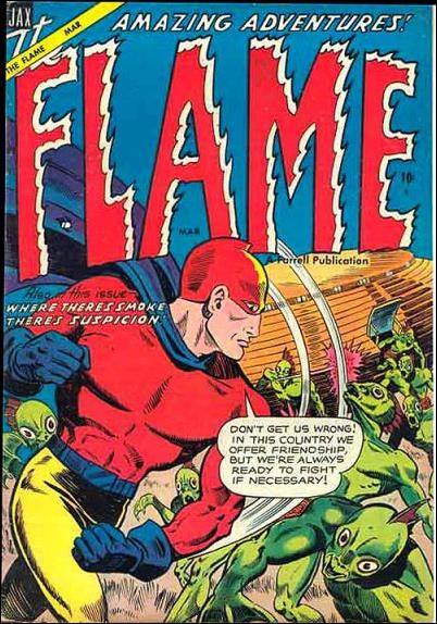 Flame (1955) 2-A by Ajax