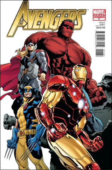 Avengers (2010) 17-B by Marvel
