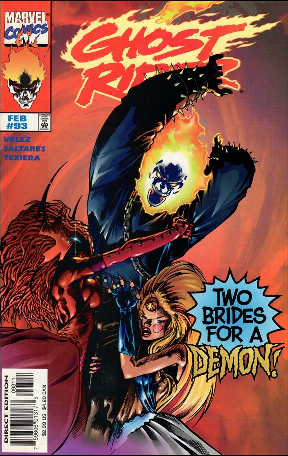 Ghost Rider (1990) 93-A by Marvel
