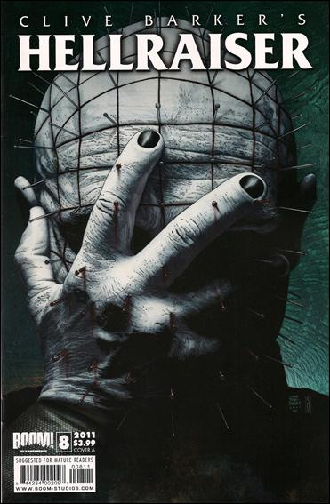 Clive Barker's Hellraiser (2011) 8-A by Boom! Studios