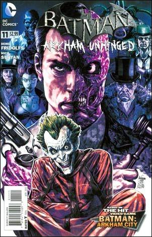 Batman: Arkham Unhinged 11-A by DC