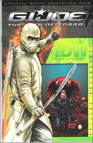 G.I. Joe: Rise Of Cobra Movie Adaptation  4-C by IDW