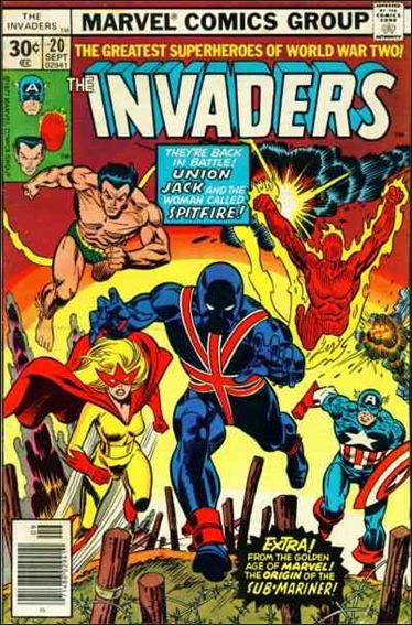 Invaders (1975) 20-A by Marvel