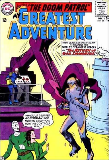 My Greatest Adventure (1955) 84-A by DC