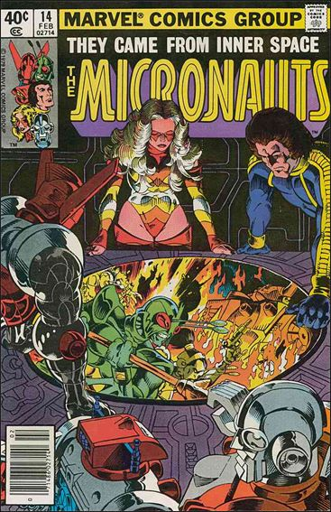 Micronauts (1979) 14-A by Marvel