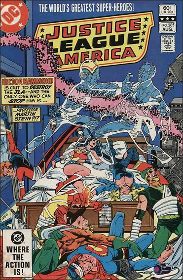 Justice League of America (1960) 205-A by DC