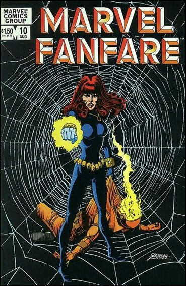 Marvel Fanfare (1982) 10-A by Marvel