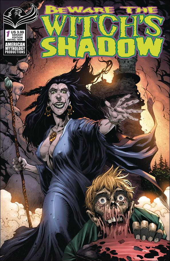 Beware the Witch's Shadow 1-B by American Mythology