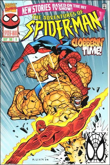 Adventures of Spider-Man / Adventures of the X-Men 6-A by Marvel