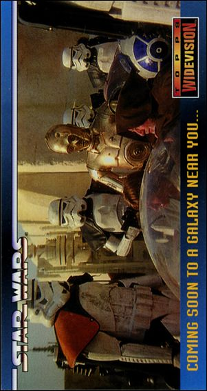 Star Wars Widevision (Promo) SWP1-A by Topps