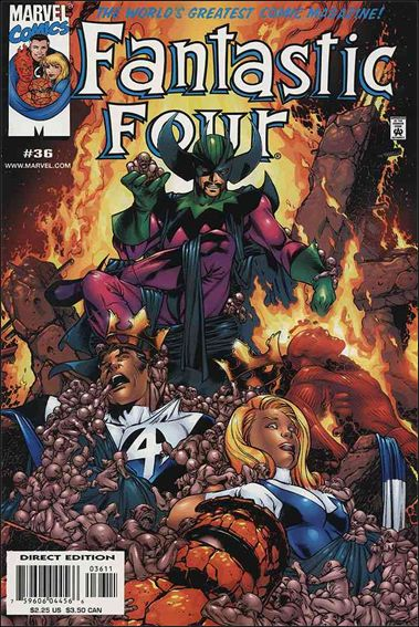 Fantastic Four (1998) 36-A by Marvel
