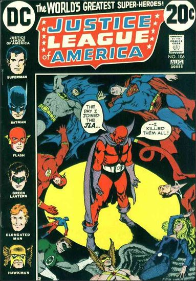 Justice League of America (1960) 106-A by DC