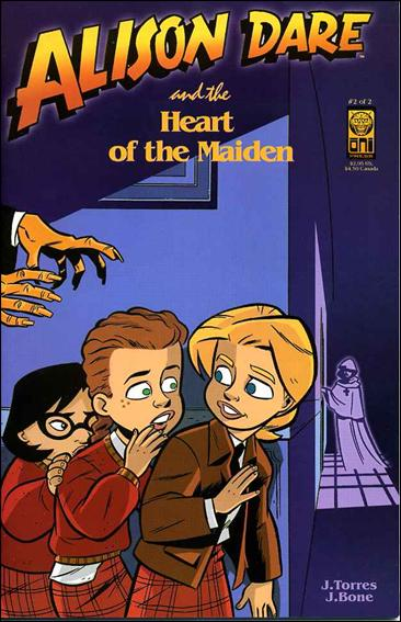 Alison Dare and the Heart of the Maiden 2-A by Oni Press