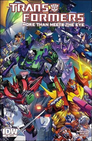 Transformers: More Than Meets the Eye (2012) 36-C