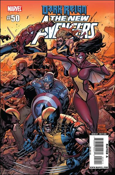 New Avengers (2005) 50-A by Marvel