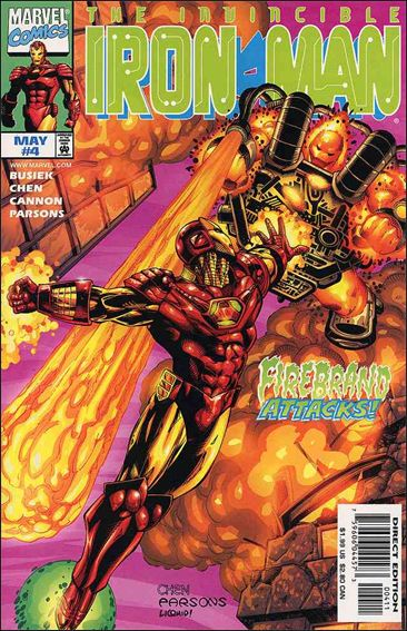 Iron Man (1998) 4-A by Marvel