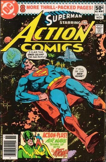 Action Comics (1938) 513-A by DC