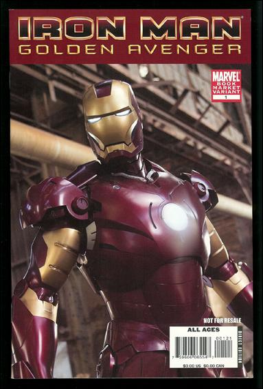 Iron Man: Golden Avenger 1-B by Marvel