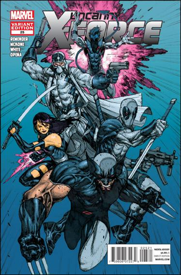 Uncanny X-Force (2010) 25-B by Marvel