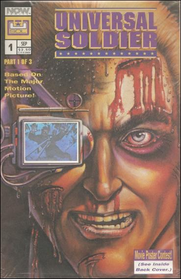 Universal Soldier 1-A by Now Comics