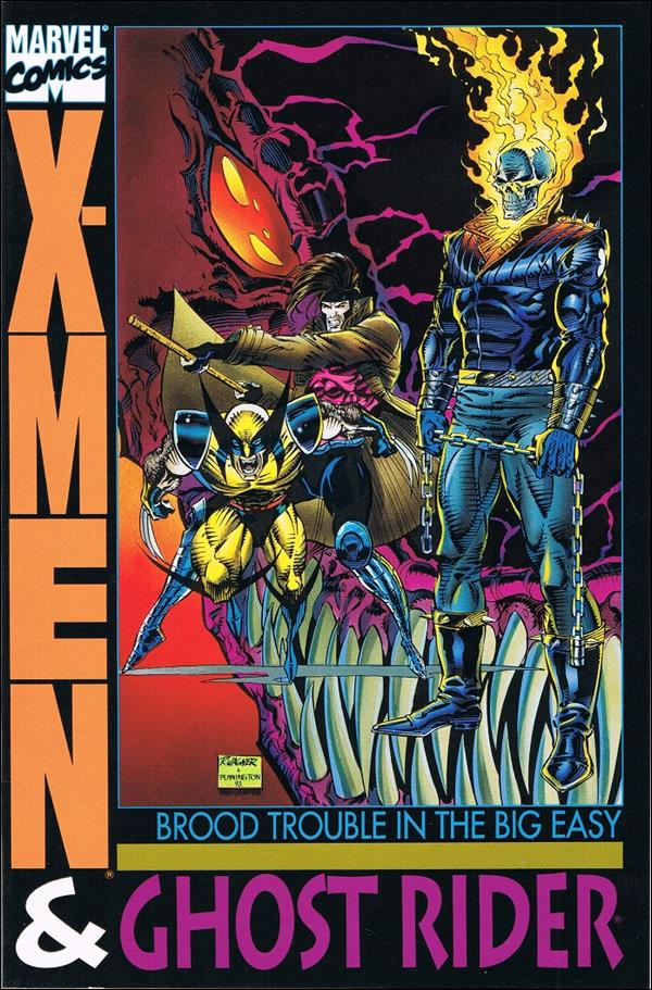 X-Men & Ghost Rider: Brood Trouble in the Big Easy 1-A by Marvel