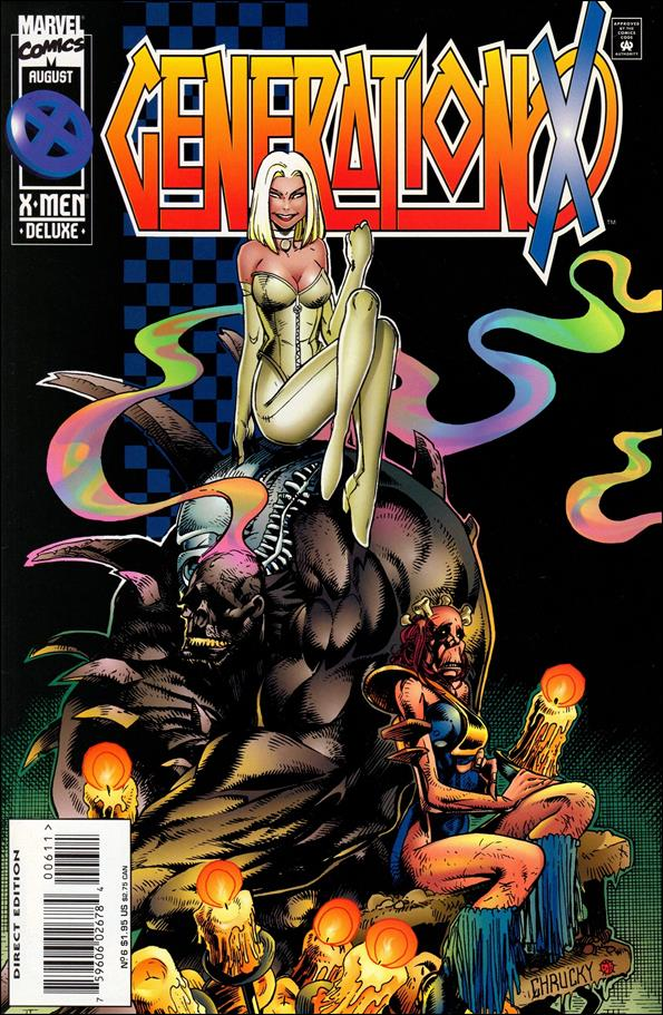 Generation X (1994) 6-A by Marvel