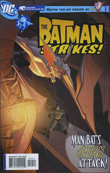 Batman Strikes 10-A by DC