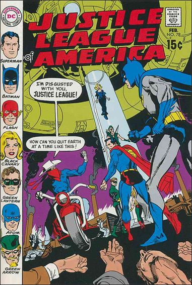 Justice League of America (1960) 78-A by DC