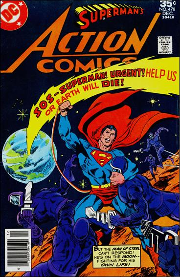 Action Comics (1938) 478-A by DC