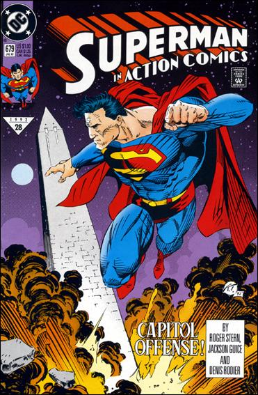 Action Comics (1938) 679-A by DC