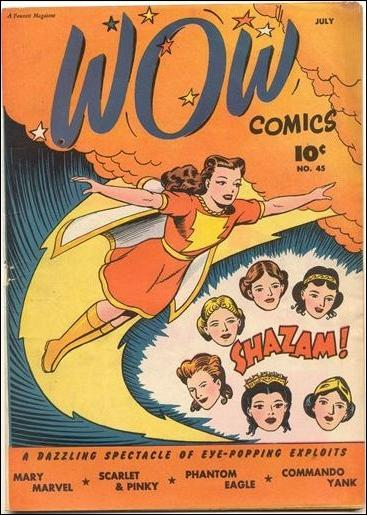 Wow Comics (1940) 45-A by Fawcett