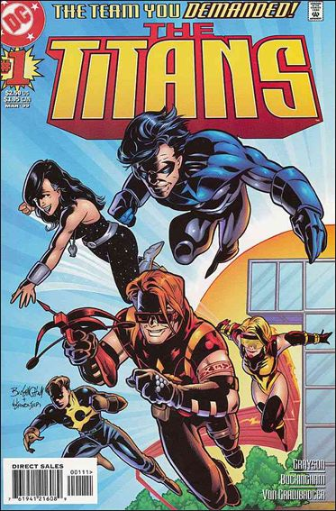 Titans (1999) 1-A by DC