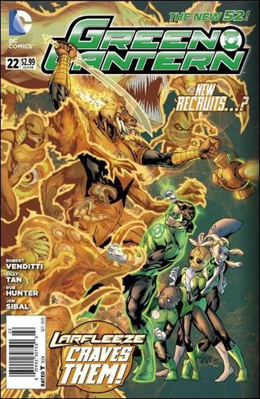 Green Lantern (2011) 22-A by DC