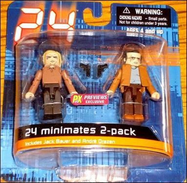 24 Minimates (Exclusives) End of Day 1 2-Pack by Diamond Select