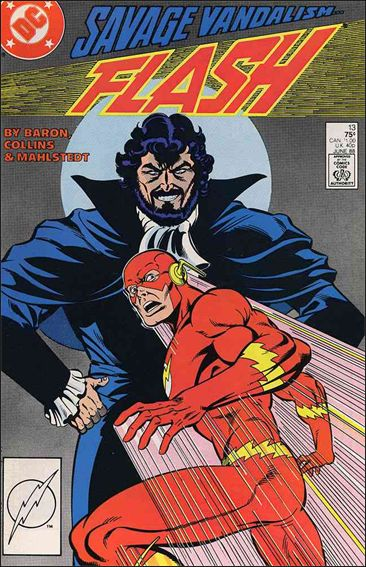 Flash (1987) 13-A by DC
