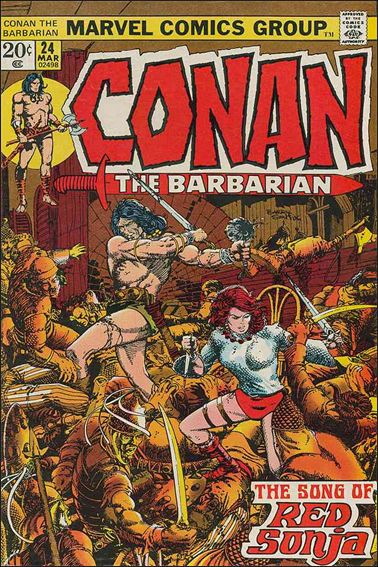 Conan the Barbarian (1970) 24-A by Marvel