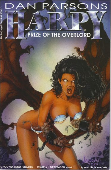 Harpy: Prize of the Overlord 1-A by Ground Zero Comics
