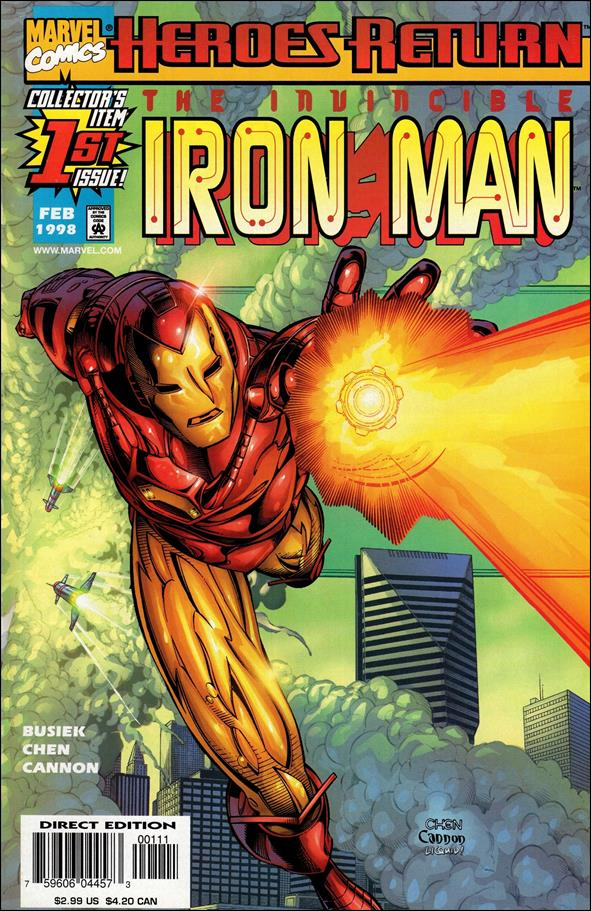 Iron Man (1998) 1-A by Marvel