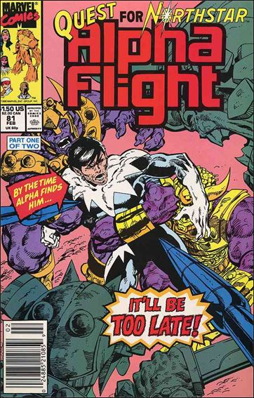 Alpha Flight (1983) 81-A by Marvel