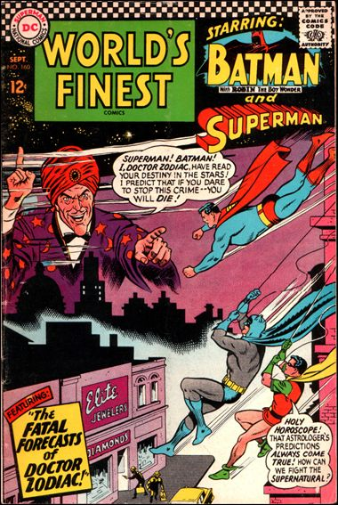 World's Finest Comics 160-A by DC