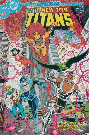New Teen Titans (1984) 13-A by DC