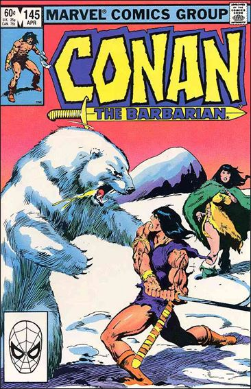 Conan the Barbarian (1970) 145-A by Marvel