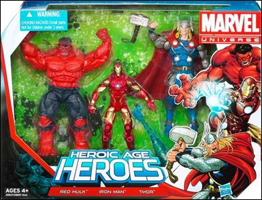 Marvel Universe (3-Packs) Heroic Age Heroes by Hasbro