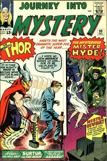 Journey into Mystery (1952) 99-A by Marvel
