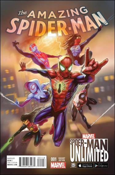 Amazing Spider-Man (2015) 1-B by Marvel